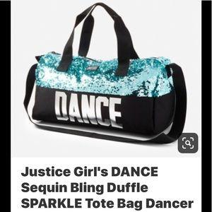 Justice Dance duffle bag